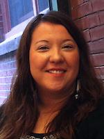 indigenous activist Kandi Mossett at Peace and Social Justice Studies Association meeting at Tufts University 10.6.12